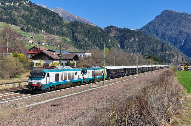 E 402.019 + E 402.014 - Freienfeld/Campo di Trens