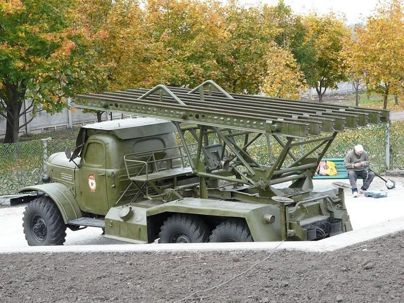 BM-13 on ZiL-157 4