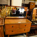 4 drawer teak chest comes with mirror E85