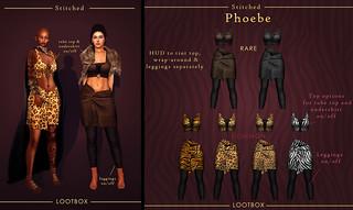 Phoebe Top & Leggings @ Lootbox - 20 June!   by Adele Bumblefoot