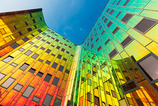 L'arc en ciel offices   by Guy Goetzinger