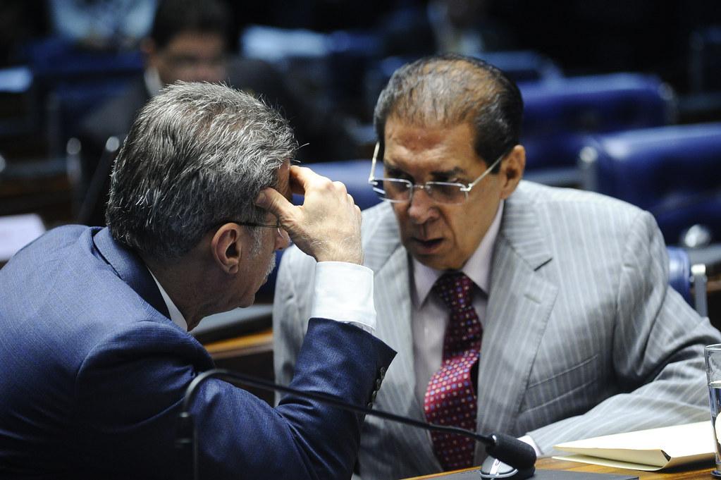 Viúva de ex-prefeito aliado de Jader entra na briga para impedir mudança no Detran, Plenário do Senado