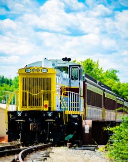 Train at Milton Bicentennial 2017