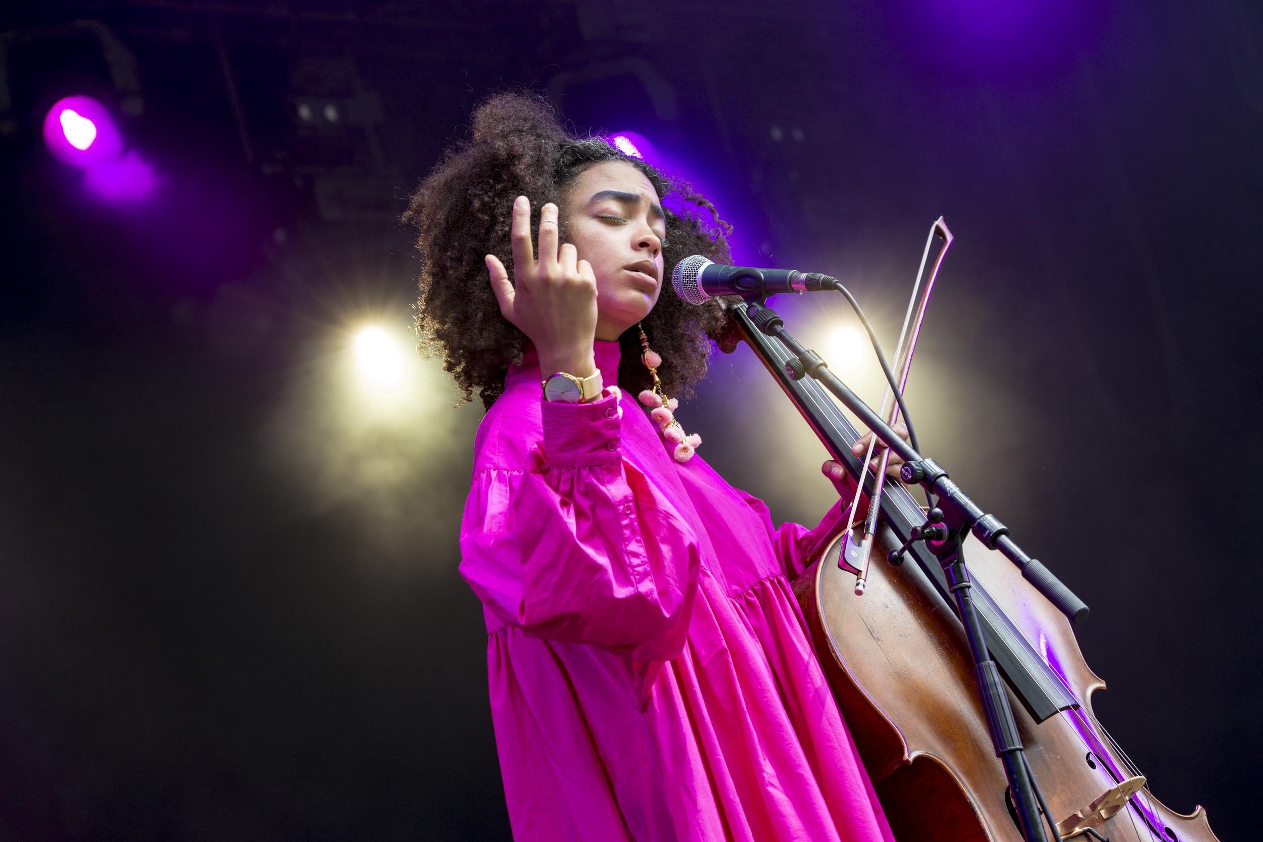 Kelsey Lu @ Cactusfestival 2017, Dag 2 (Nick De Baerdemaeker)