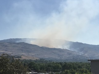Hunter Creek Fire | by cyberhobo