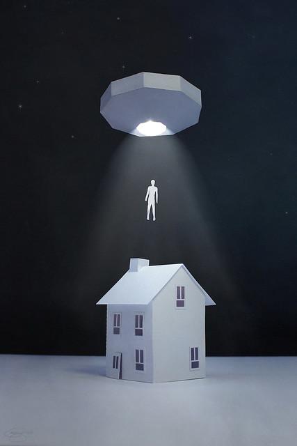 alien abduction...