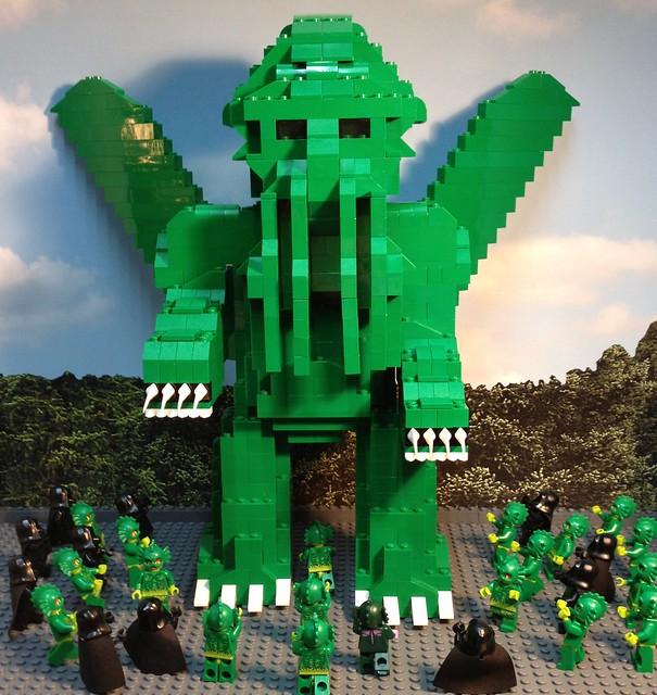 Giant Lego Cthulhu - Prototype