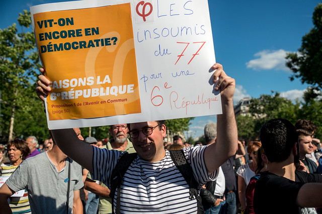 Rassemblement des parlementaires de La France insoumise