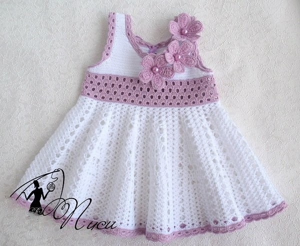 💋❣️😁 What a beautiful crochet dress, delicate and simple pattern I loved see step by step