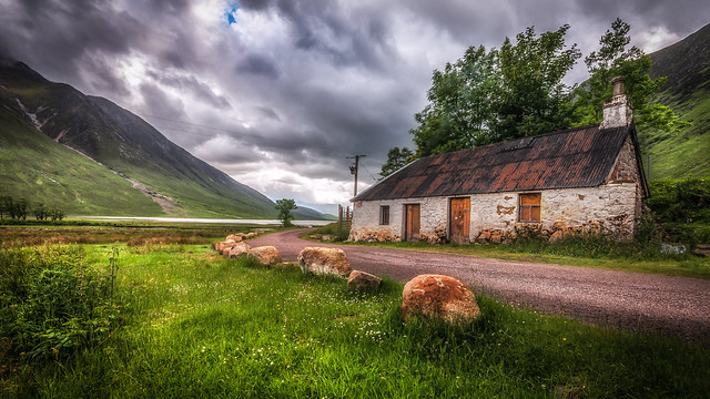 A place close to my heart ....Loch Etive. Scotland .x