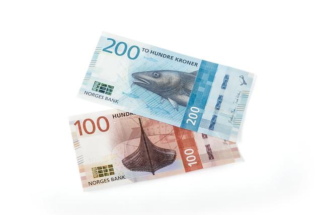 100- og 200-kronesedler (utgave VIII)