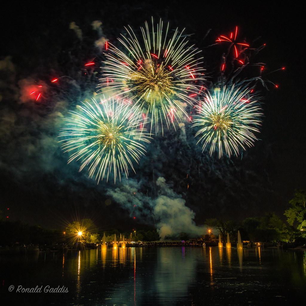 Fireworks July 2 thru July 4, 2017