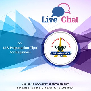 Live Chat on IAS Preparation Tips for Beginners.