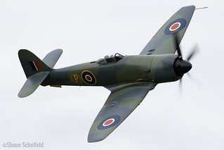 Hawker Fury II SR661/G-CBEL Anglia Aircraft Restorations Ltd Old Warden 04/06/17 | by Shaun Schofield