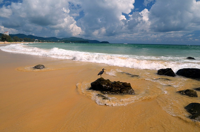 nothern part of Karon beach, Phuket