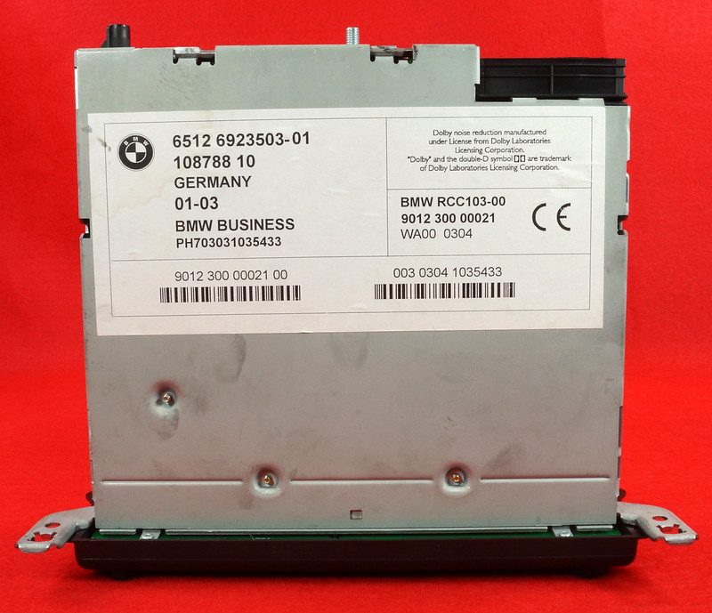 RD16592 Original BMW Business Mini R50 R52 R53 Dolby Kassettenradio Cooper One Autoradio 6512 6923503-01 DSC00758
