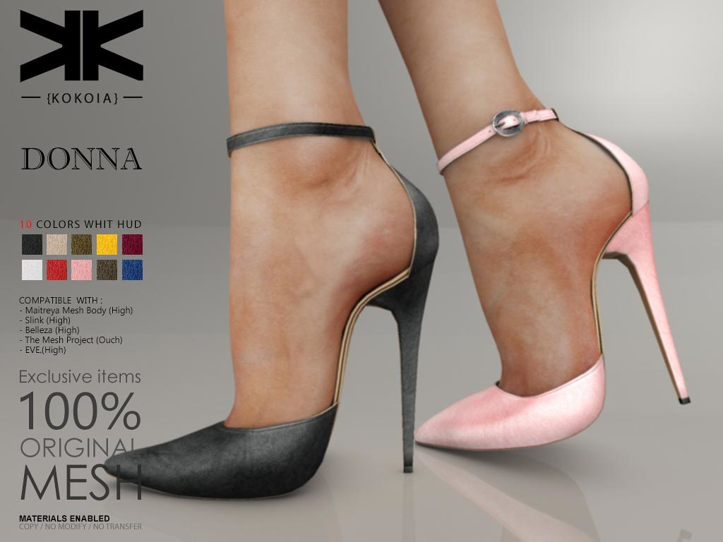 Donna :: Woman Shoes :: 10 Colors | Purchase | Shop in Secon