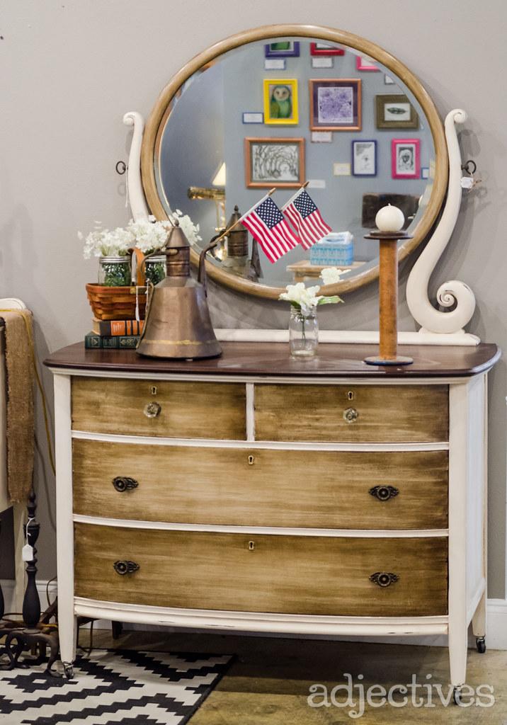 Vintage Dresser Turnstyle in Adjectives Altamonte