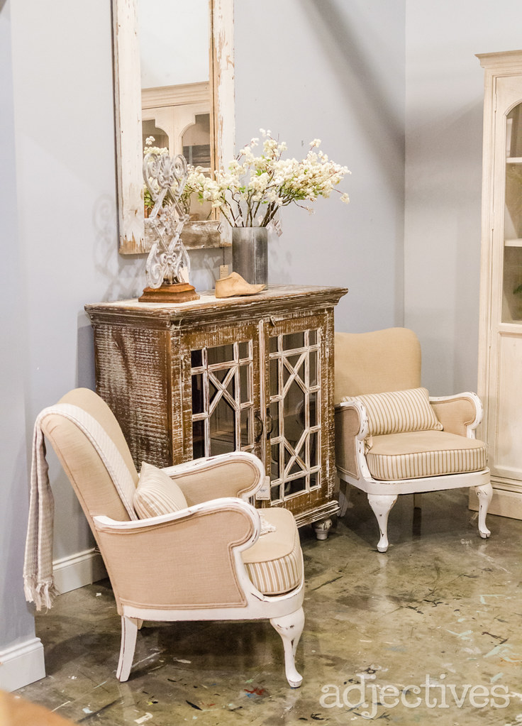 Club Chairs and sideboard by Adjectives Altamonte