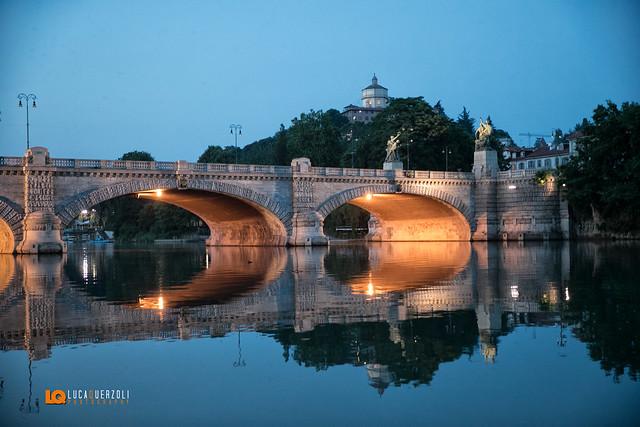 Ponte Umberto I e Cappuccini Torino