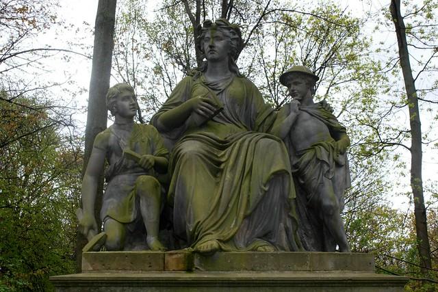 """""""Die Elbe"""" im Berliner Tiergarten"""