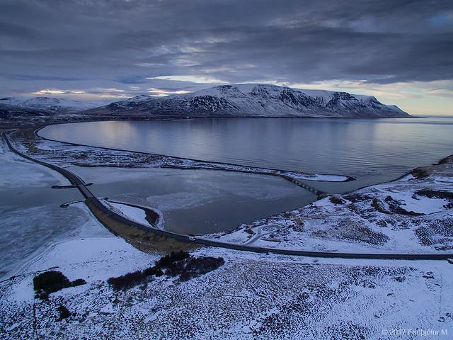 Another day ends in Skagafjörður