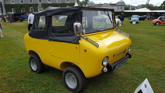 Ferves Ranger 1967, Cheeky Cinquecento, 60 Years of the Fiat 500, Cartier Style et Luxe, Goodwood Festival of Speed