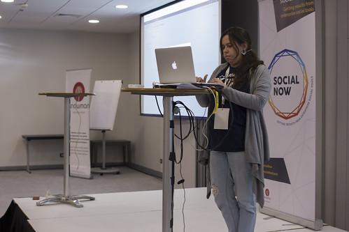 Social Now 2017 - Sofia Neto Canário of Xpand IT | by Knowman photos