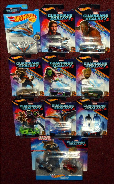 Hot Wheels - Guardians of the Galaxy
