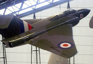 Gloster Javelin, RAF Museum, Cosford.