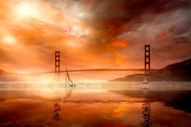 Sailing to San Francisco!