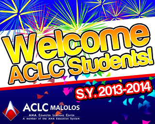 welcome_freshmen_2013_banner_for_aclc_malolos_by_ayaldev-d6ety7l