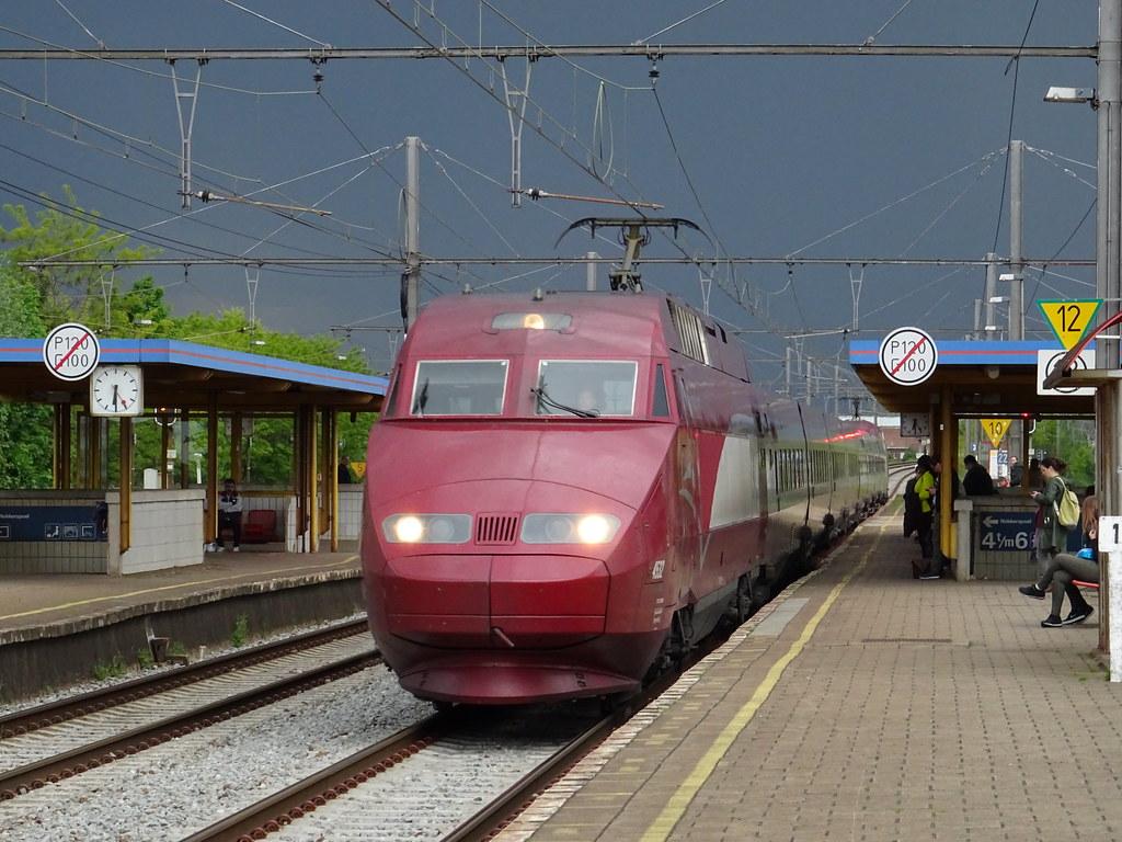 Thalys 4532 @ Mechelen Nekkerspoel | Thalys Series 38000  45