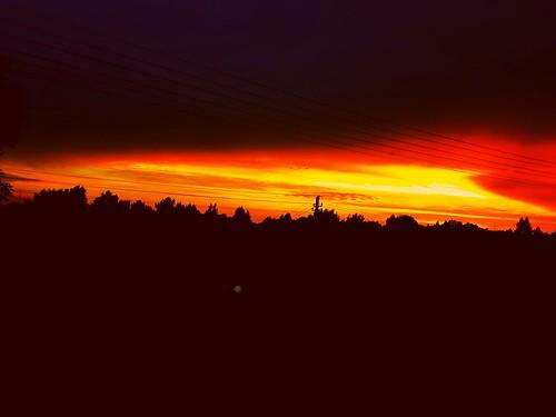 sundown sun lietuva redsun red lithuania night sunset sunny redish nature happy dark