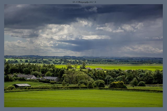 Rain coming, Foulden Scottish Borders
