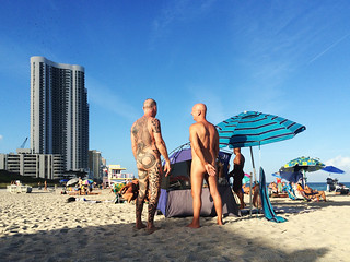 Haulover beach nude beach