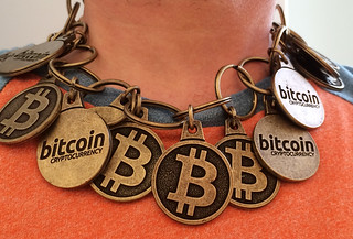 "Bitcoin ""Blockchain"" Necklace | by btckeychain"