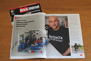 "Brick Journal # 35 - July 2015 - featuring ""Dream Garage"" 