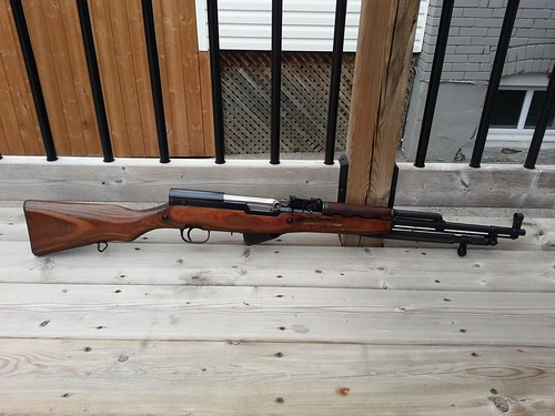 1952 Simonov SKS -- right side