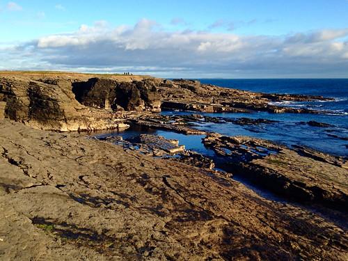 2017onephotoeachday 117picturesin2017 sea ocean cliffs hooklighthouse walking iphone5 seascape rocks shore clouds bluesky wexford ireland irish scenery