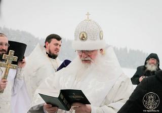 Литургия в Иверском монастыре 605