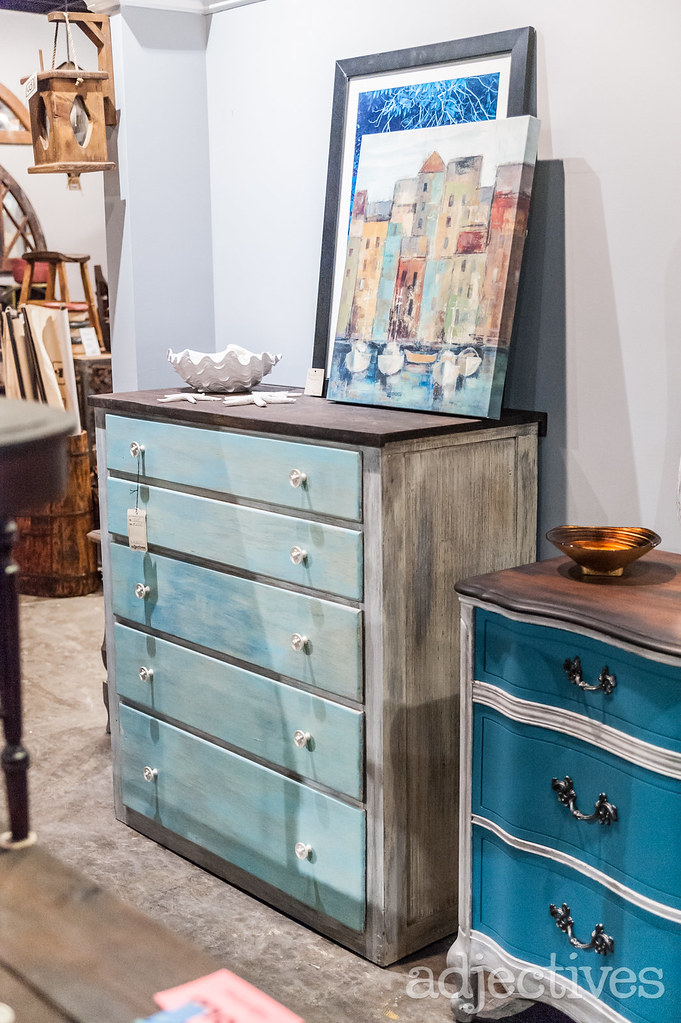 Vintage, painted dressers in Altamonte by Design Restoration