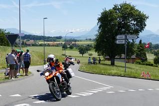 Police Tour de Suisse 2017 TdS Cycling Race Hohenrain Switzerland