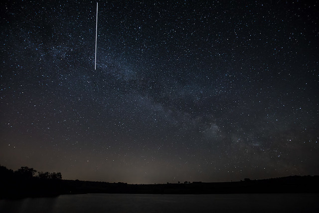 ISS and the Milky Way