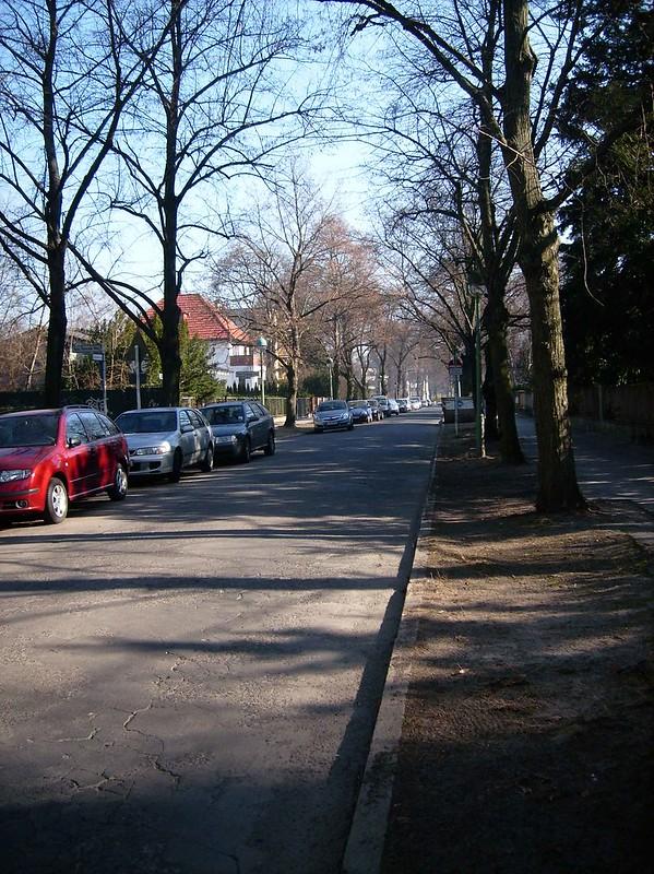 Blick in den Boris Pasternak Weg