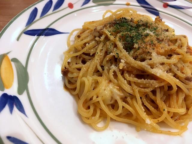 Mozzarella Bolognese  Spaghetti from GRAND PA @ Roppongi