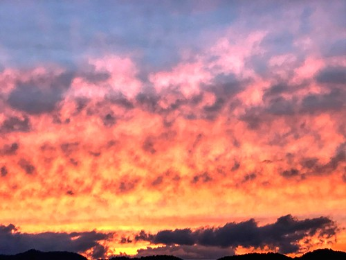 sunset sky clouds color haywoodcounty northcarolina nc wnc