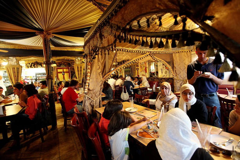 Iftar at the Ali Baba Restaurant