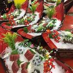 絲瓜麵線+麵疙瘩+芒果+櫻花寒天+茶+豆牙菜+醃筍煮虱目魚頭+豆阿粥+鳳梨加樹葡萄好喝106 (305)