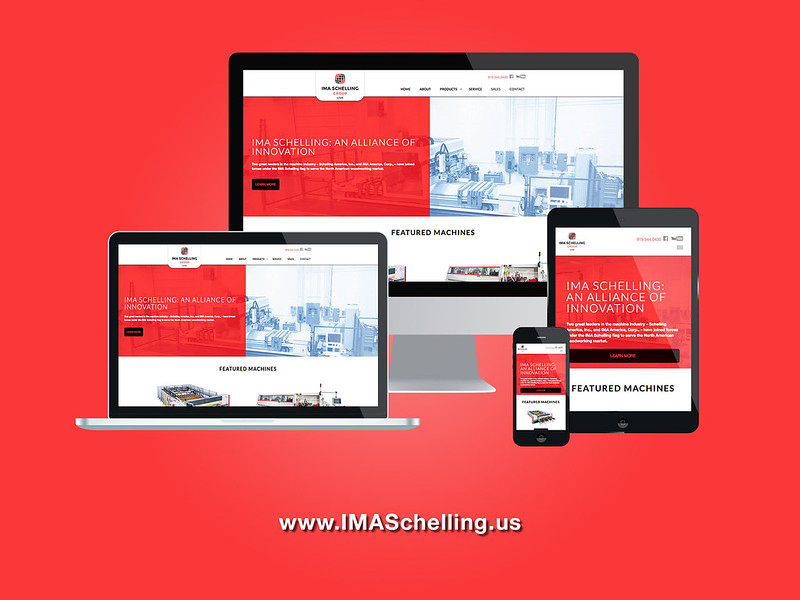 IMASchelling Responsive Website Design